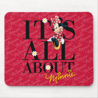 Minnie rojo el | todo sobre mí tapetes de ratón