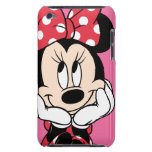 Minnie rojo y blanco 1 Case-Mate iPod touch protectores