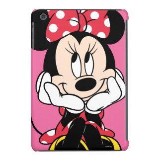 Minnie rojo y blanco 1 funda de iPad mini