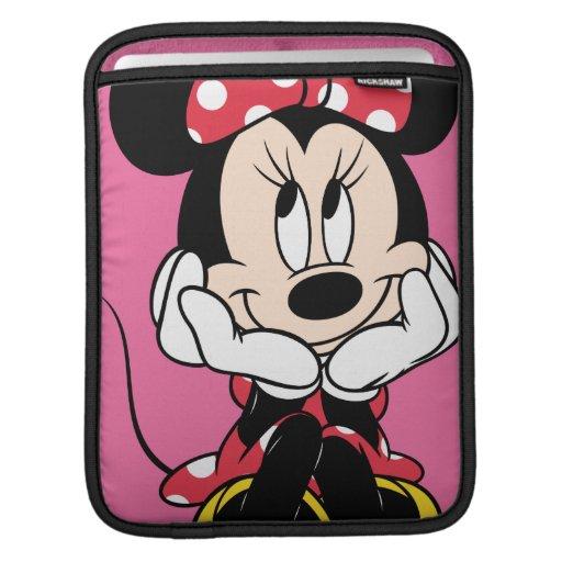 Minnie rojo y blanco 1 mangas de iPad