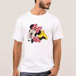 Minnie rojo y blanco 1 playera