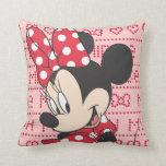 Minnie rojo y blanco 3 almohada