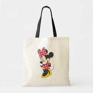 Minnie rojo y blanco 3 bolsas de mano