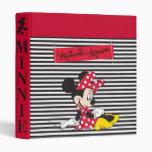 "Minnie rojo y blanco 3 carpeta 1"""