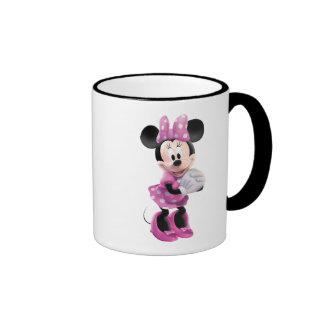 Minnie rosado el | da junto taza de dos colores