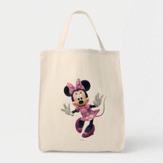 Minnie rosado el | distribuye bolsa tela para la compra