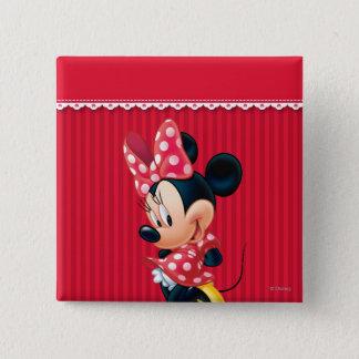 Minnie | Shy Pose Button