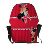 Minnie | Shy Pose Courier Bag at Zazzle