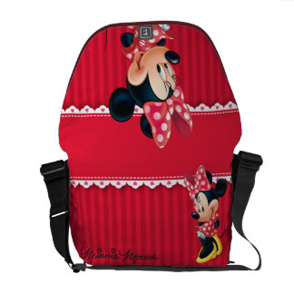 Minnie | Shy Pose Courier Bag