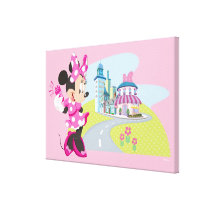 Minnie | Super Helper Canvas Print