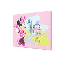 Minnie | Super Helper Canvas Print