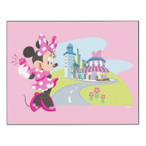 Minnie | Super Helper Wood Wall Art