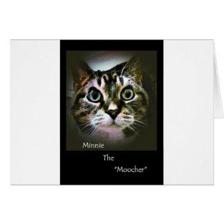 Minnie The Moocher Card