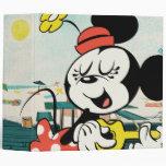 Minnie Vinyl Binder