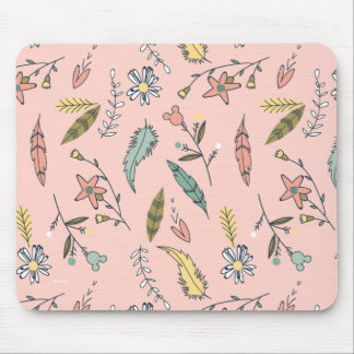 Minnie | Wildflower Pattern Mouse Pad