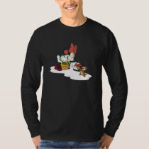 Minnie with a Chipmunk T-Shirt