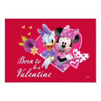"""Minnie y tarjeta del día de San Valentín de la Invitación 3.5"""" X 5"""""""