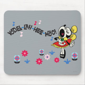 Minnie - Yodel Lay Hee Hoo! Mouse Pad