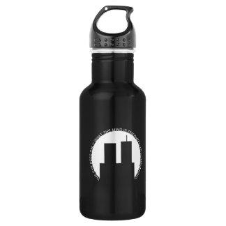 minns 9/11 stainless steel water bottle