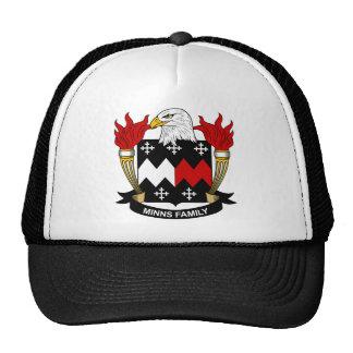 Minns Family Crest Trucker Hat