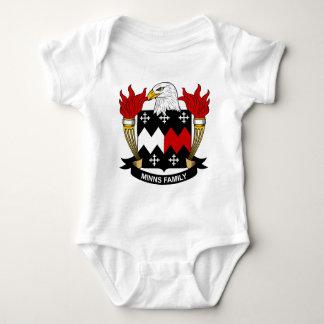 Minns Family Crest Infant Creeper