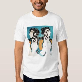 Minoan Fresco, Women T-shirt