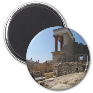 Minoan Palace of Knossos 2 Inch Round Magnet