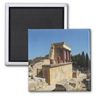Minoan Palace of Knossos 2 Inch Square Magnet