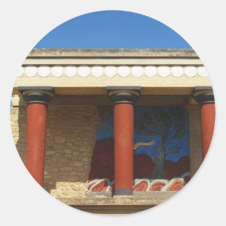 Minoan Palace of Knossos Stickers
