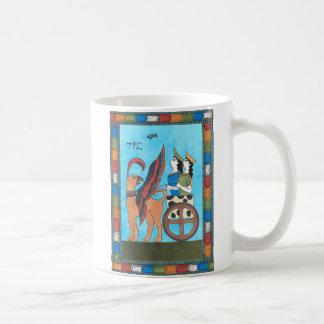 Minoan Tarot Mug: The Chariot Coffee Mug