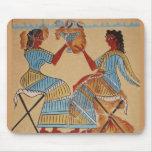 Minoan women painted around 1550-1450 BC Mousepad