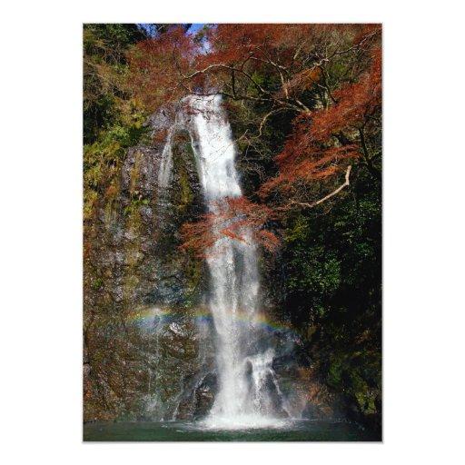 Minoh baja en la prefectura Japón de Minoh Osaka Comunicados Personalizados