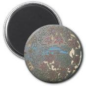 Minoh manhole refrigerator magnets