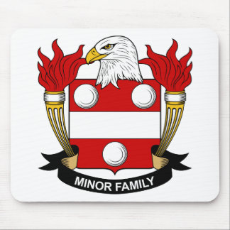 Minor Family Crest Mouse Mats