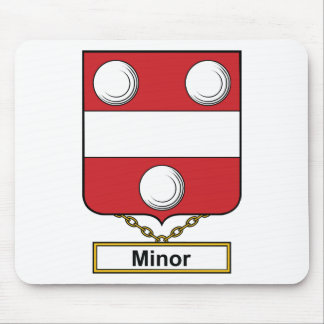 Minor Family Crest Mousepad