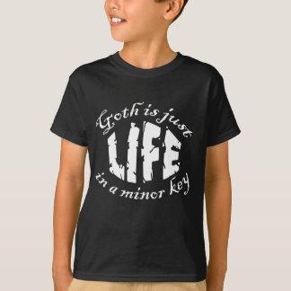 Minor Key 1 Goth T-Shirt