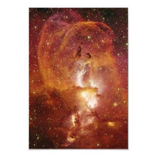 Minor Nebula NGC 3582 in Sagittarius RCW 57 Card