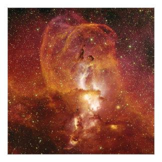 Minor Nebula NGC 3582 in Sagittarius RCW 57 Photographic Print