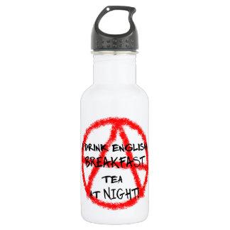 """""""Minor rebel"""": English Breakfast 18oz Water Bottle"""