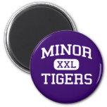 Minor - Tigers - High School - Adamsville Alabama Refrigerator Magnets