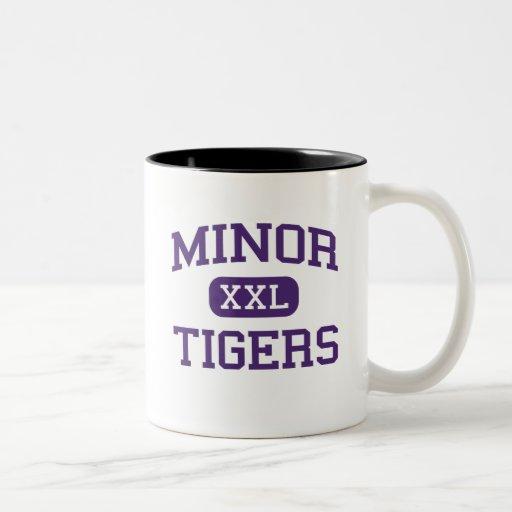 Minor - Tigers - High School - Adamsville Alabama Coffee Mug