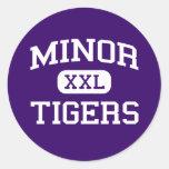 Minor - Tigers - High School - Adamsville Alabama Stickers