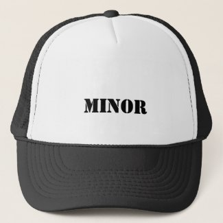minor trucker hat