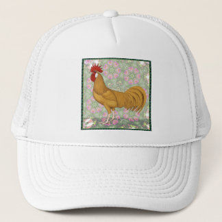 Minorca:  Old-fashioned Rooster Trucker Hat