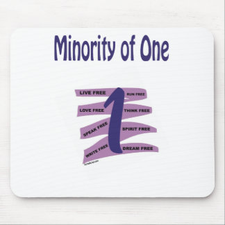 Minority of One Mouse Pads