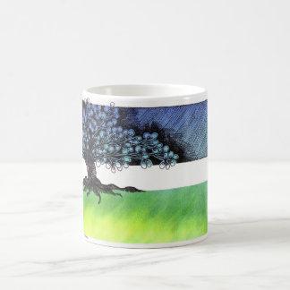 minorquin tree coffee mug