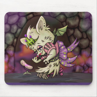 MINOSA  HALLOWEEN BAT CARTOON MOUSE PAD
