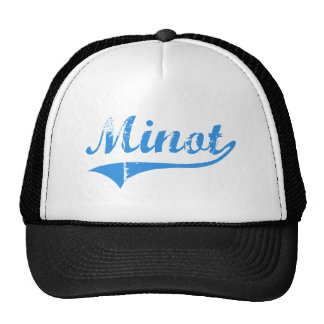 Minot Maine Classic Design Trucker Hats