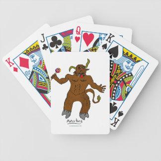 minotard bicycle playing cards