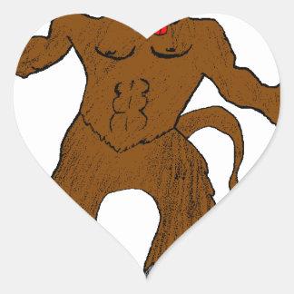 minotard heart sticker